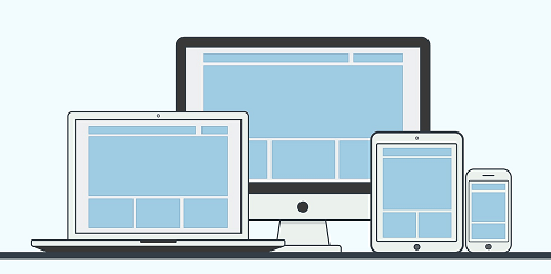 Bildschirm von Computer, Laptop, Tablet, Smartphone