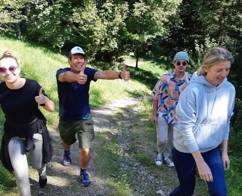 Teamevent Wanderung
