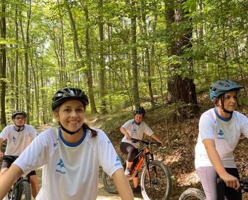 Teamevent im Wald