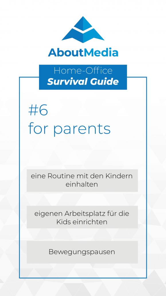 Tipps für Eltern im Home Office
